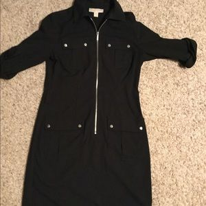 MK zip up dress